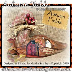 Autumn Fields DOWNLOAD Painting Pattern - Martha Smalley