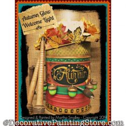 Autumn Glow DOWNLOAD Painting Pattern - Martha Smalley