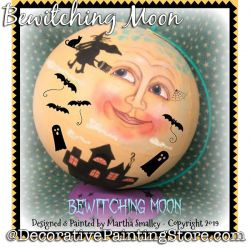 Bewitching Moon DOWNLOAD Painting Pattern - Martha Smalley