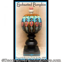 Enchanted Pumpkin DOWNLOAD Painting Pattern - Martha Smalley