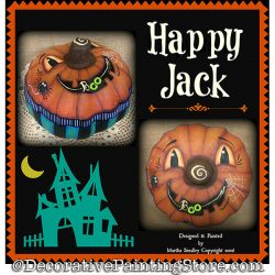 Happy Jack DOWNLOAD Painting Pattern - Martha Smalley