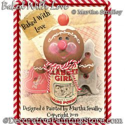 Baked With Love Ginger DOWNLOAD Painting Pattern - Martha Smalley