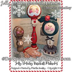 Jolly Baseball Makedos DOWNLOAD Painting Pattern - Martha Smalley