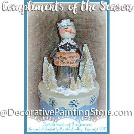 Compliments of the Season ePattern - Martha Smalley - PDF DOWNLOAD