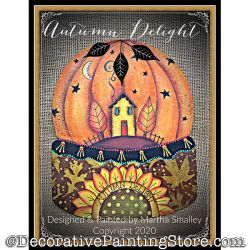 Autumn Delight Painting Pattern DOWNLOAD - Martha Smalley