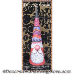 Fairytale Gnome Painting Pattern DOWNLOAD - Martha Smalley