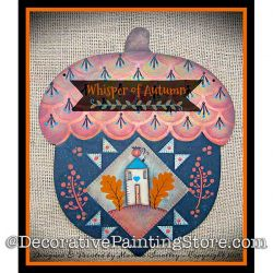 Whisper of Autumn Painting Pattern DOWNLOAD - Martha Smalley
