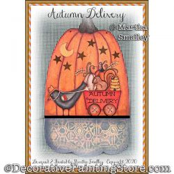 Autumn Delivery Painting Pattern DOWNLOAD - Martha Smalley