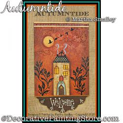 Autumntide Painting Pattern DOWNLOAD - Martha Smalley