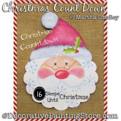 Christmas Count Down Painting Pattern DOWNLOAD - Martha Smalley