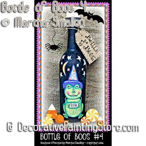 Bottle of Boos Four ePattern - Martha Smalley - PDF DOWNLOAD