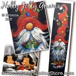 Holly Jolly Gnome Pattern PDF DOWNLOAD - Krisena Neff