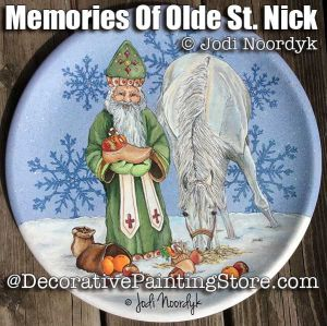 Memories of Olde St Nick ePattern - Jodi Noordyk - PDF DOWNLOAD