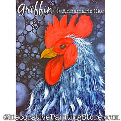 Griffin (Rooster) Pattern PDF DOWNLOAD - Annamarie Oke