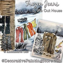Frozen Jeans and The Out House Pattern PDF DOWNLOAD - Annamarie Oke