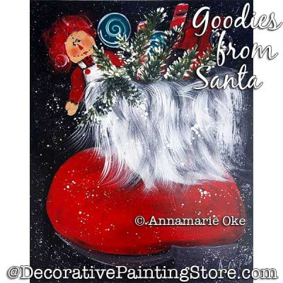 Goodies from Santa Pattern PDF DOWNLOAD - Annamarie Oke