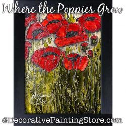 Where the Poppies Grow Pattern PDF DOWNLOAD - Annamarie Oke