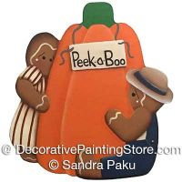 Peek a Boo Ginger by Sandra Paku - PDF DOWNLOAD
