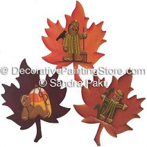 Fall Leaves by Sandra Paku - PDF DOWNLOAD