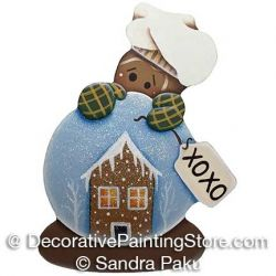 Gingerbread Snowglobe ePattern - Sandra Paku - PDF DOWNLOAD