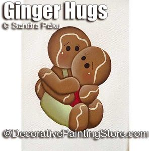 Ginger Hugs ePattern - Sandra Paku - PDF DOWNLOAD