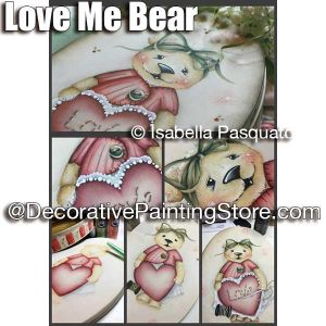 Love Me Bear ePattern - Isabella Pasquato - PDF DOWNLOAD