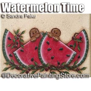 Watermelon Time ePattern - Sandra Paku - PDF DOWNLOAD