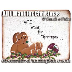 All I Want for Christmas e-Pattern - Sandra Paku - PDF DOWNLOAD
