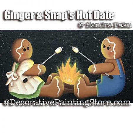 Ginger and Snaps Hot Date e-Pattern - Sandra Paku - PDF DOWNLOAD