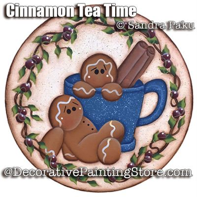 Cinnamon Tea Time e-Pattern - Sandra Paku - PDF DOWNLOAD