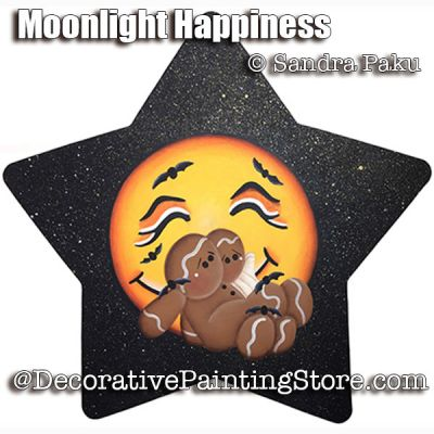 Moonlight Happiness e-Pattern - Sandra Paku - PDF DOWNLOAD