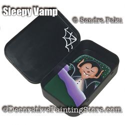 Sleepy Vamp e-Pattern - Sandra Paku - PDF DOWNLOAD