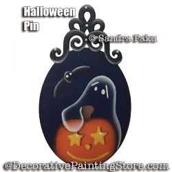 Halloween Pin e-Pattern - Sandra Paku - PDF DOWNLOAD