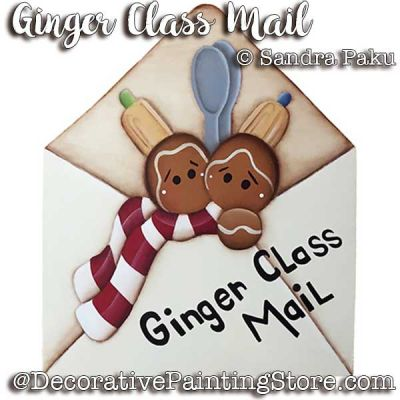 Ginger Class Mail e-Pattern - Sandra Paku - PDF DOWNLOAD