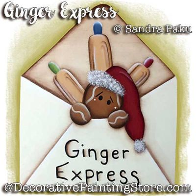 Ginger Express e-Pattern - Sandra Paku - PDF DOWNLOAD