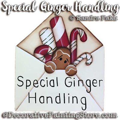 Special Ginger Handling e-Pattern - Sandra Paku - PDF DOWNLOAD