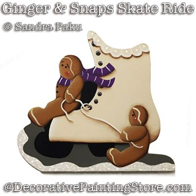 Ginger and Snaps Skate Ride e-Pattern - Sandra Paku - PDF DOWNLOAD