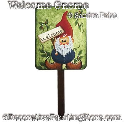 Welcome Gnome e-Pattern - Sandra Paku - PDF DOWNLOAD