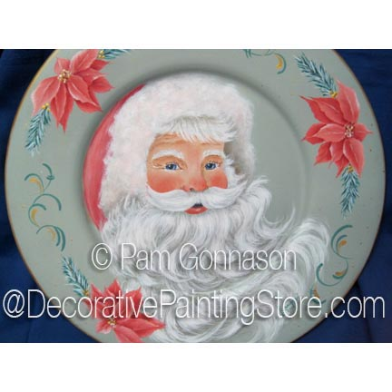 Santa in Pink ePattern - Pam Gonnason - PDF DOWNLOAD