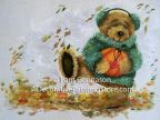 Autumn Frolic Bear ePattern - Pam Gonnason - PDF DOWNLOAD