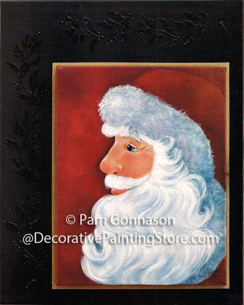 Santa Profile ePattern - Pam Gonnason - PDF DOWNLOAD
