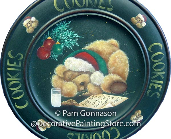 Cookies for Santa Bear ePattern - Pam Gonnason - PDF DOWNLOAD