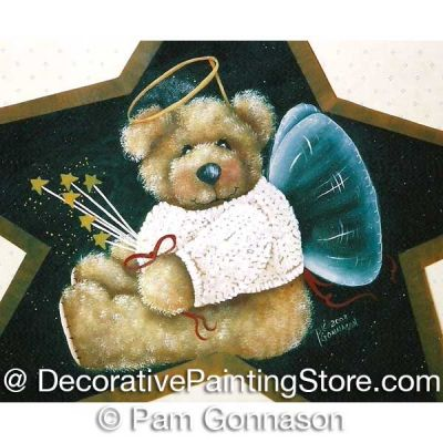 My Teddy Angel ePattern - Pam Gonnason - PDF DOWNLOAD