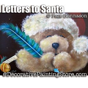 Letter to Santa Bear ePattern - Pam Gonnason - PDF DOWNLOAD