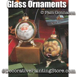 Glass Ornaments ePattern - Pam Gonnason - PDF DOWNLOAD