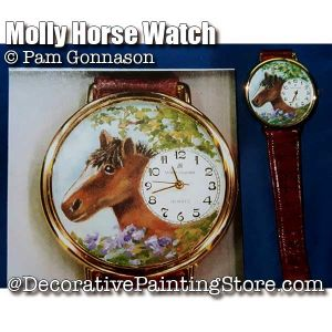 Molly Horse Watch ePattern - Pam Gonnason - PDF DOWNLOAD