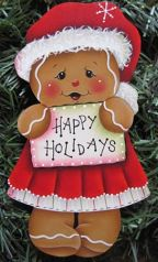 Happy Holidays Ginger Girl  e-Pattern
