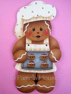 Gingerbread Cookie Baker e-Pattern