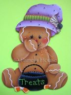 Gingerbread Halloween Treats e-Pattern