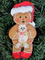 Gingers Christmas Bear e-Pattern